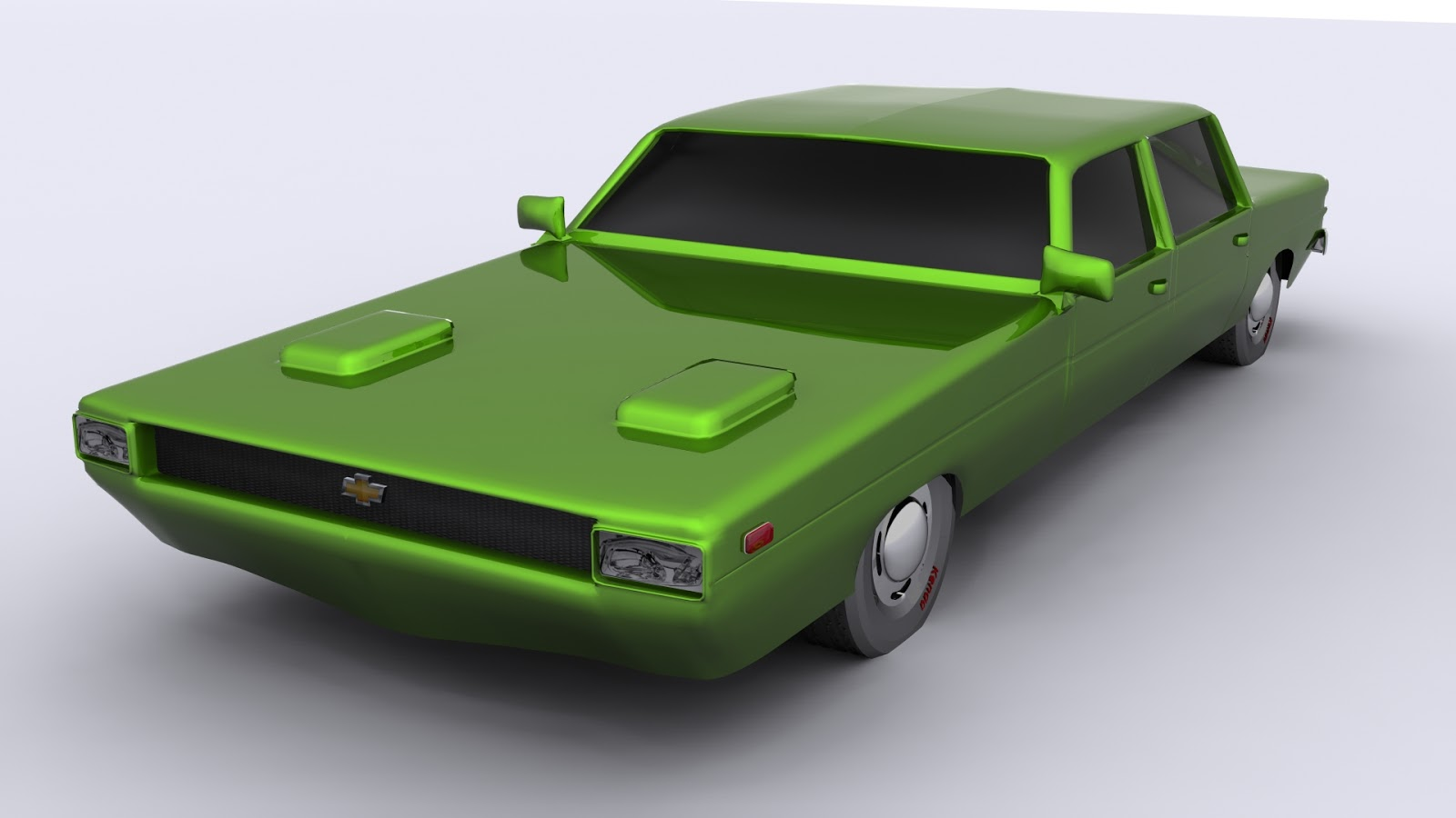 3D Modeling Cars