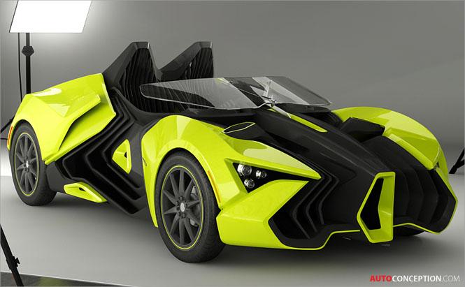 3D Printed Car Local Motors