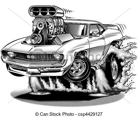 69 Camaro Clip Art