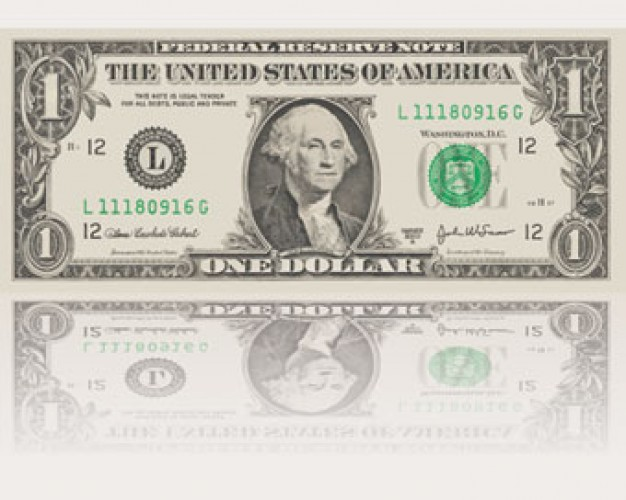 American Dollar Bill Vector