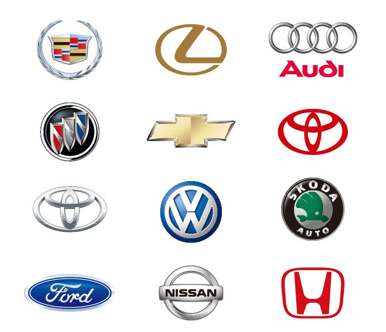 Auto Mobile Logo Vectors
