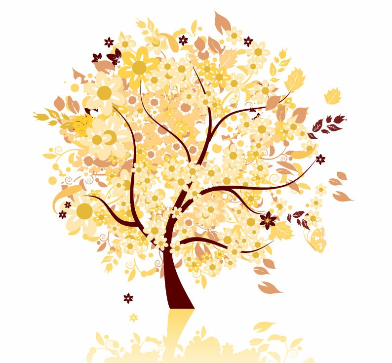 Autumn Tree Graphic Design