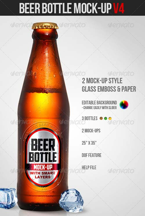 13 Beer Label Template PSD Images