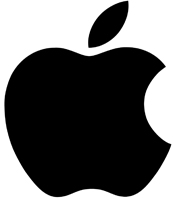 Black Apple Logo Transparent