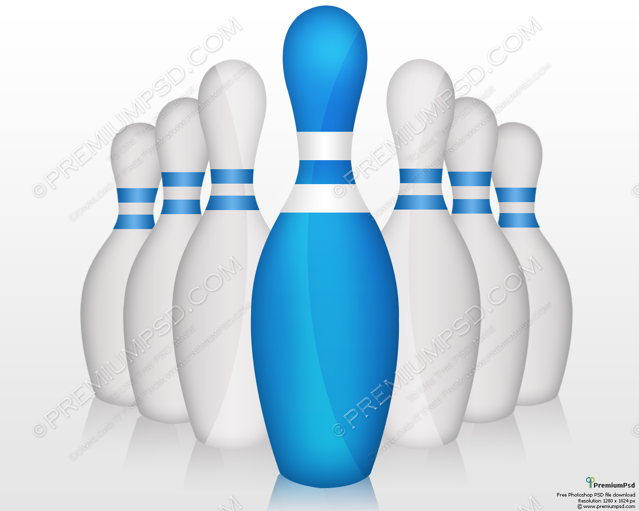 Bowling Pin Vector Free Download