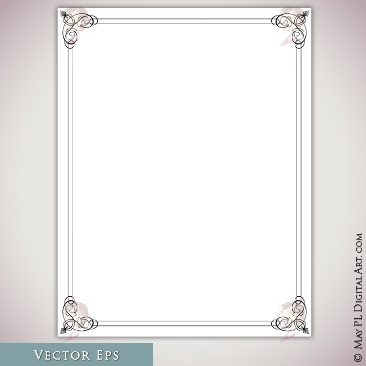 Certificate Frames 8.5 X 11 Borders