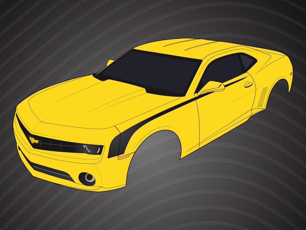 Chevrolet Camaro Logo Vector Art