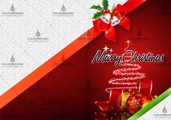 Christmas Card PSD Template