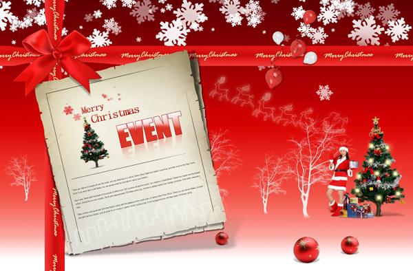 Christmas Card PSD