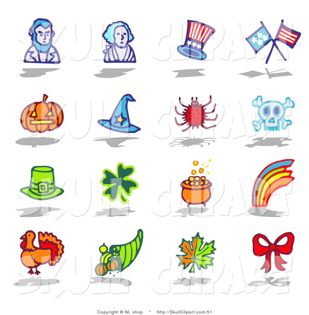 Clip Art Holiday Icons
