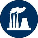Coal Power Plant Icon