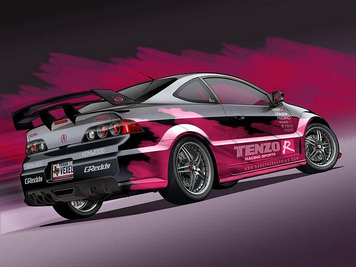 Custom Car Graphics Designs