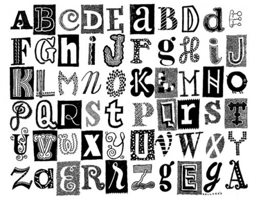 Different Types of Alphabet Letters
