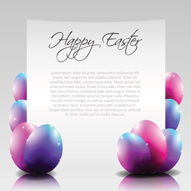Easter Egg Invitation Template Free