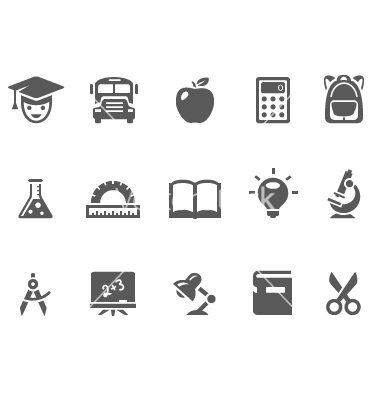 8 Education Icon Vector Art Images