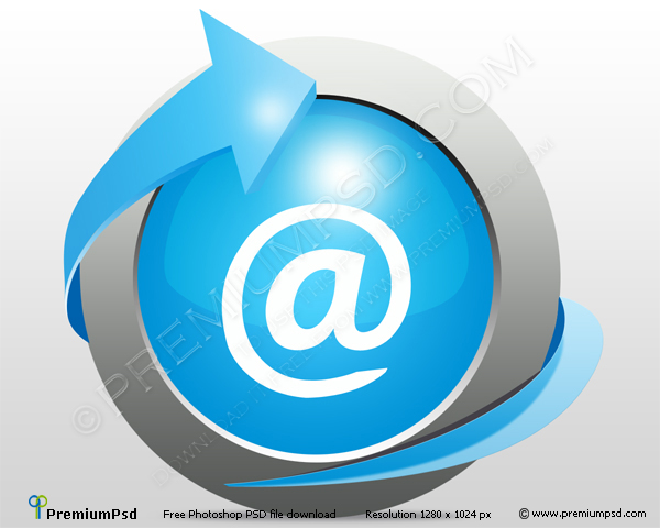 Email Icon PSD
