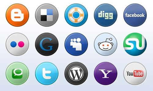 how to add social media icons to email signature