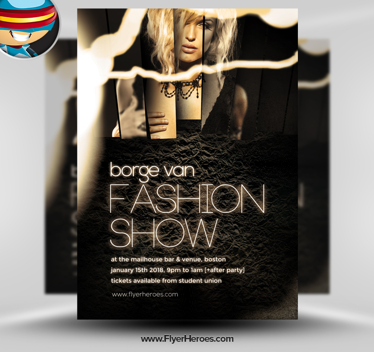 Free Psd Fashion Show Flyers Free Timiznceptzmusic