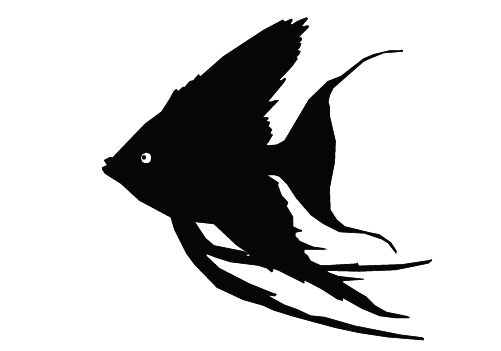 11 Fish Silhouette Vector Images