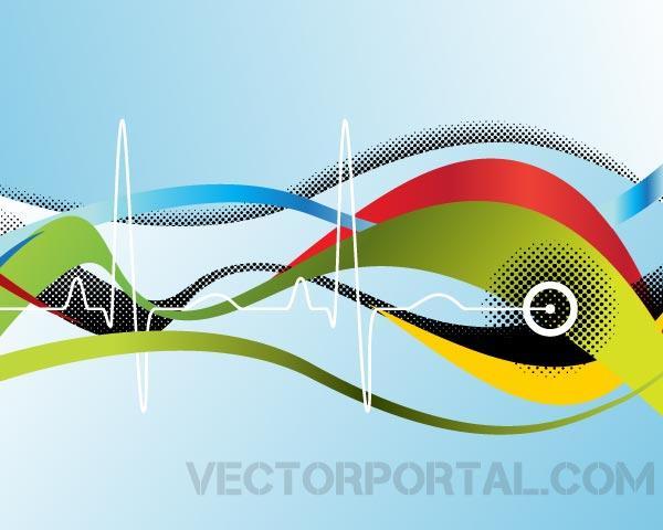8 Sine Wave Vector Images