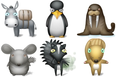 Free Animated Animal Icons