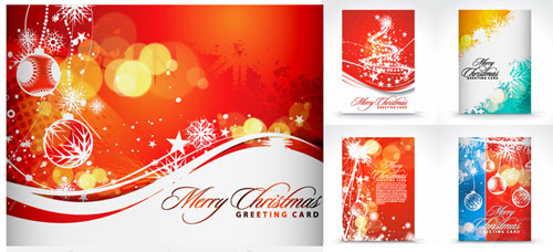 Free Christmas Card PSD Template