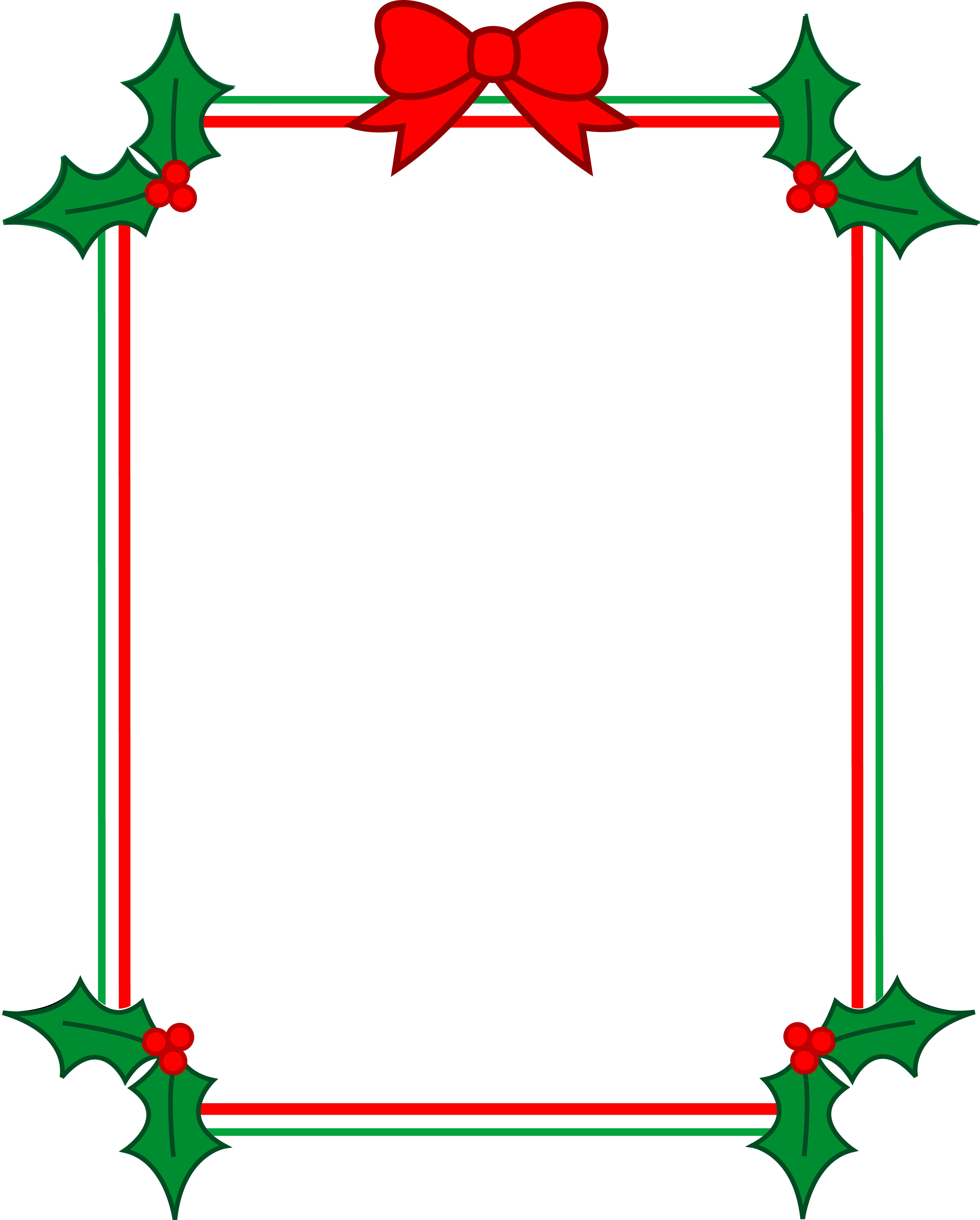 18 Microsoft Christmas Border Templates Free Images