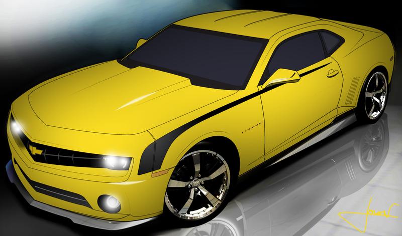 Free Clip Art Camaro Vector