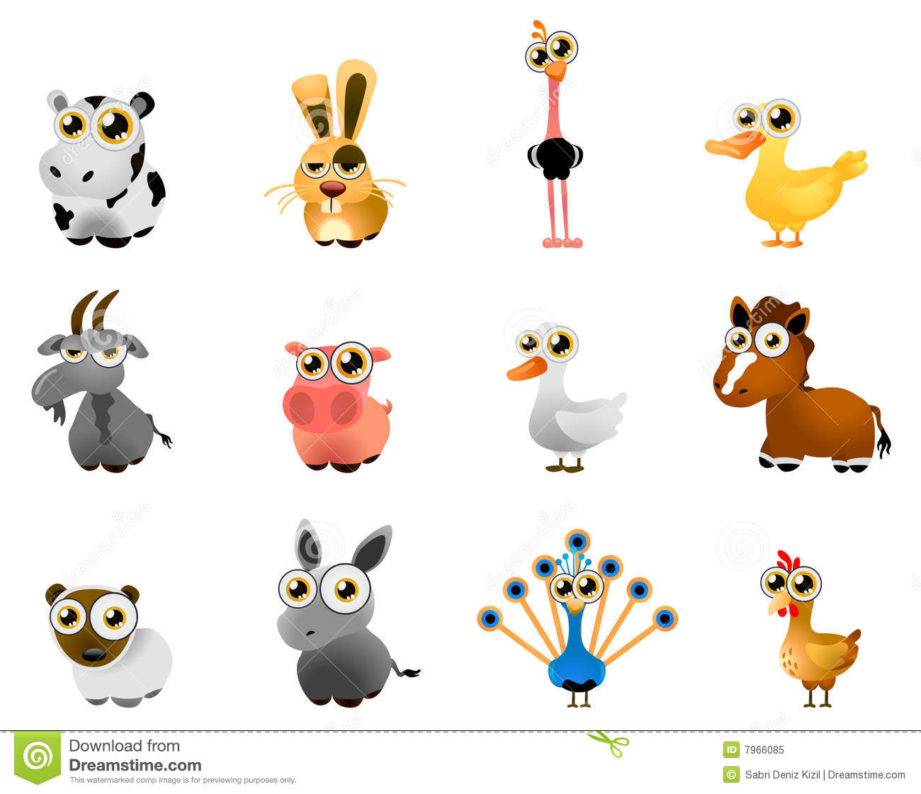 Free Farm Animal Vector