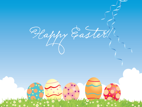 Free Images of Happy Easter Eggs