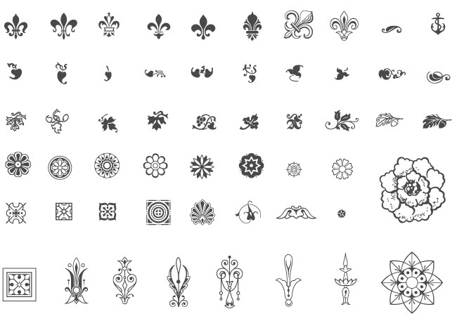 HD wallpapers free vector ornaments and flourishes