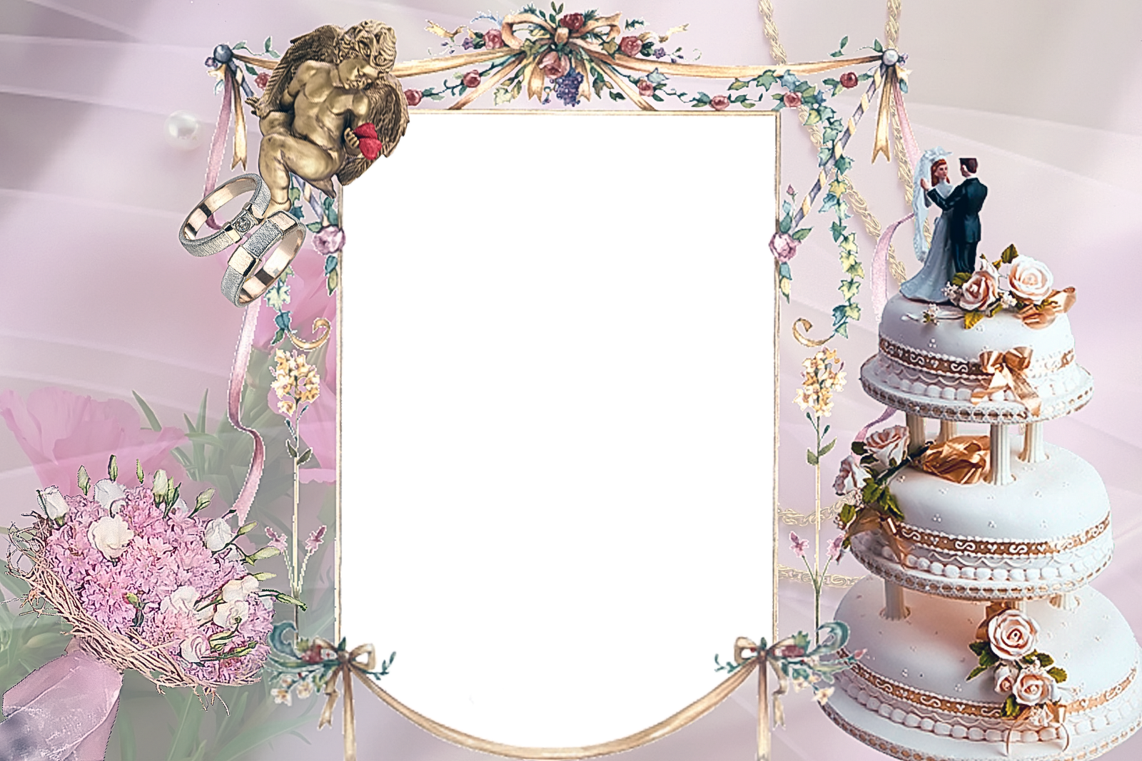 Free Photoshop Wedding Frames