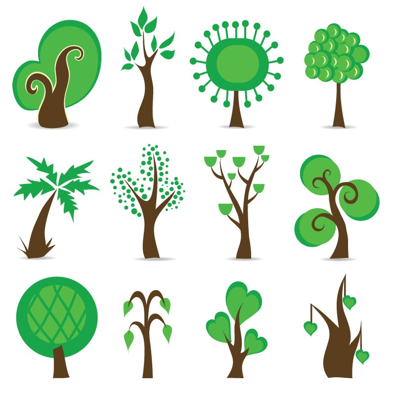 Free Tree Vector Graphics