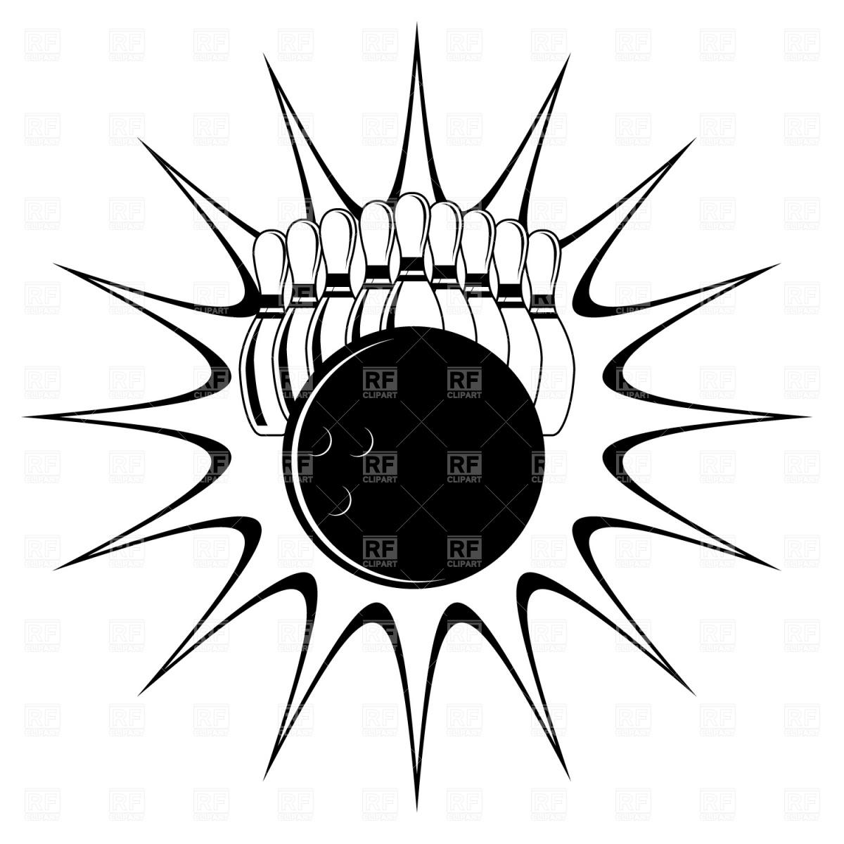 Free Vector Bowling Clip Art