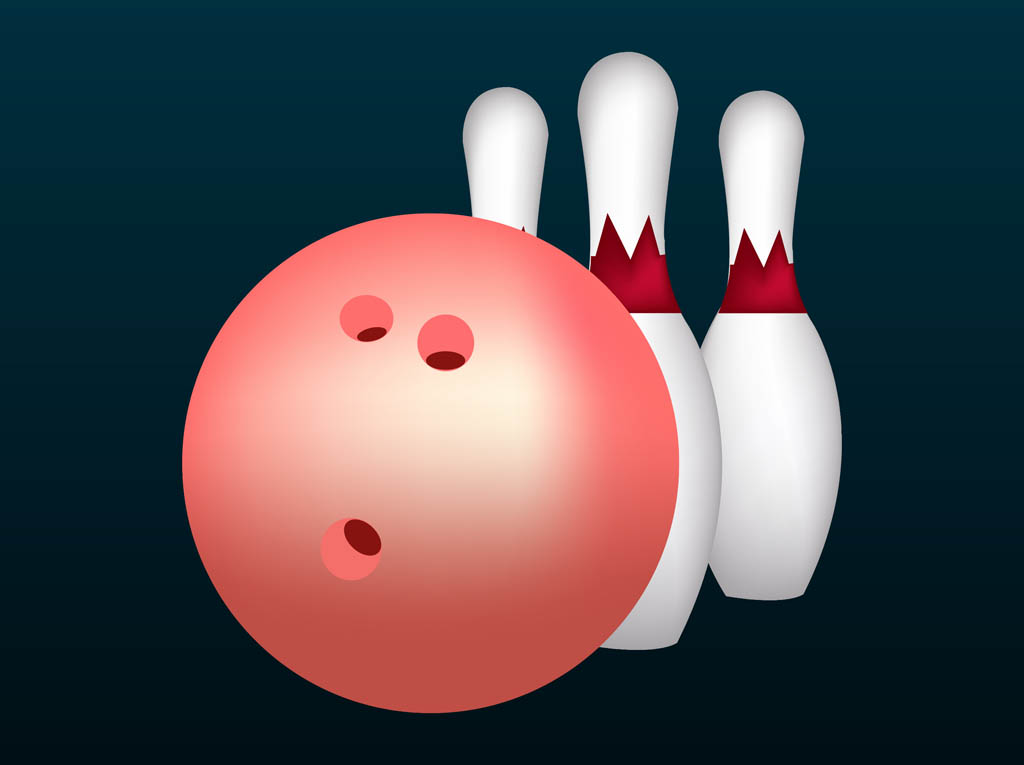 Free Vector Bowling Clip Art