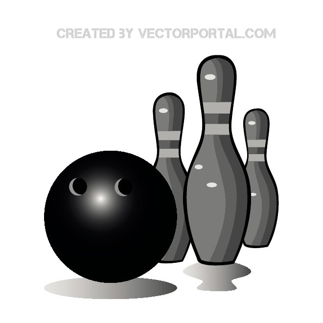 Free Vector Bowling Graphics