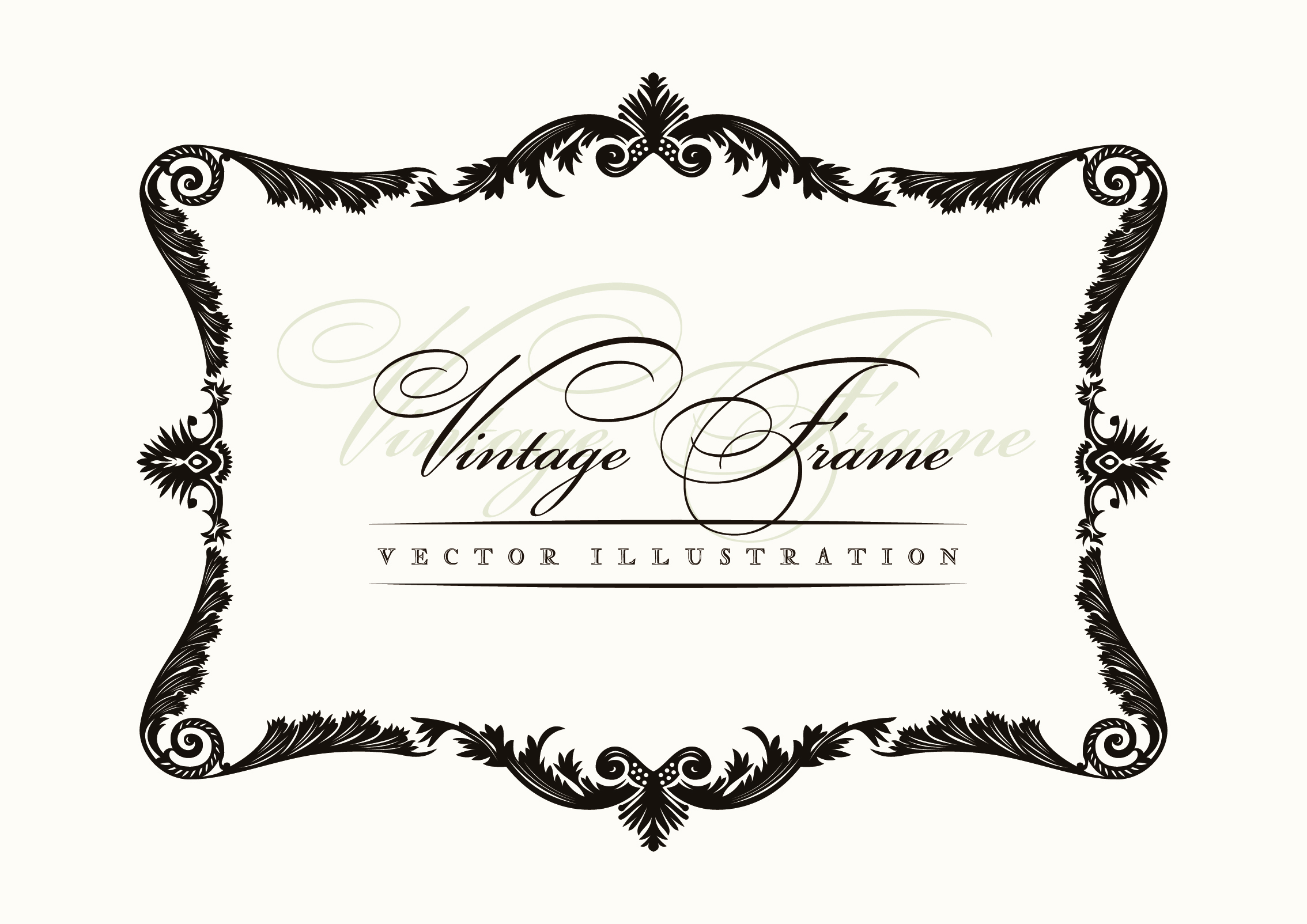 Free Vector Decorative Borders