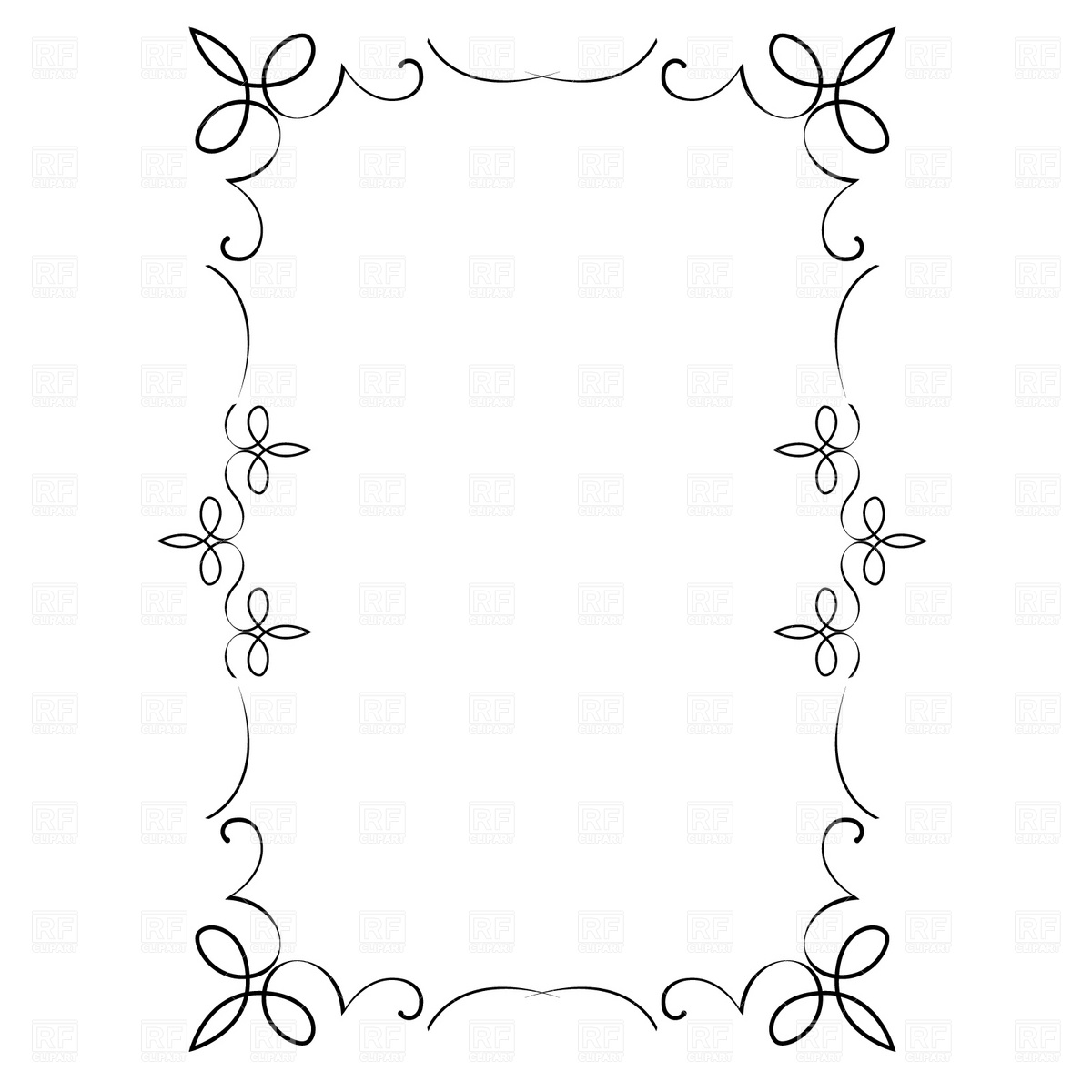 17 ornate border vector free images free decorative