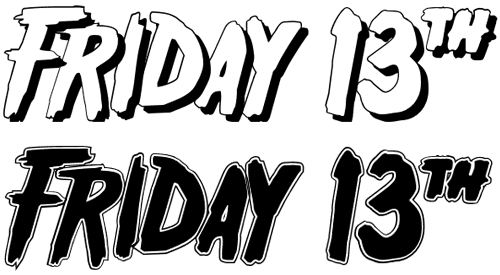 Friday 13 Font