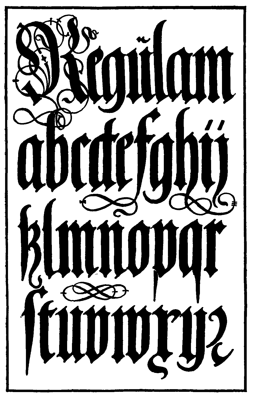 85 german gothic lettering tattoo alphabet fonts lettering tattoos designs kits videos ink. Black Bedroom Furniture Sets. Home Design Ideas