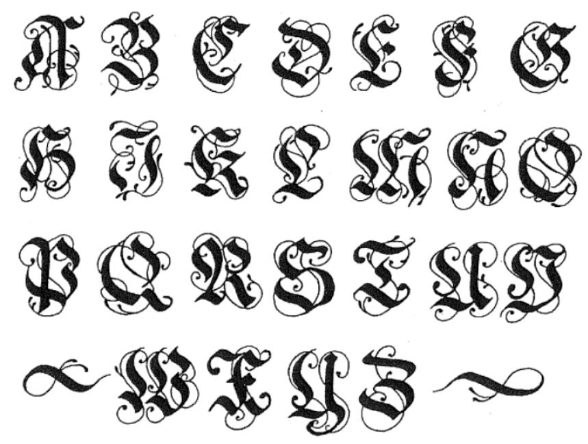 8 german black letter font images gothic alphabet letters old german font and german letter. Black Bedroom Furniture Sets. Home Design Ideas