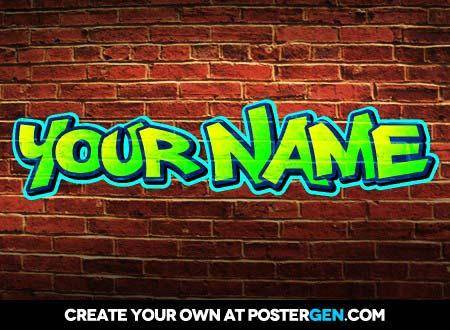 15 Free Fonts Free Graffiti Maker Images - Graffiti