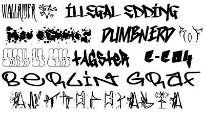 Graffiti Fonts Free Download