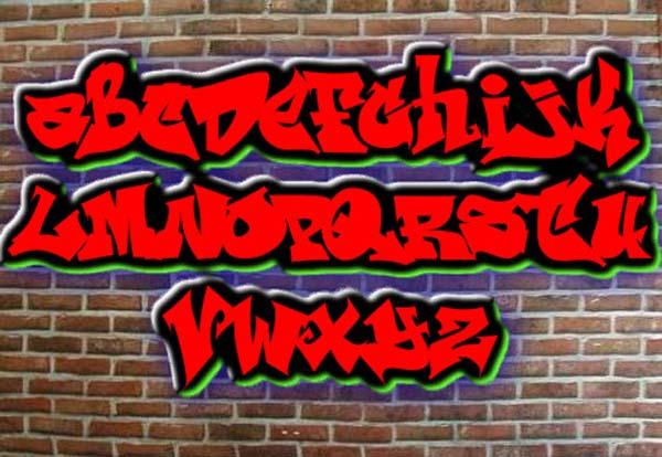 Graffiti Letters Generator