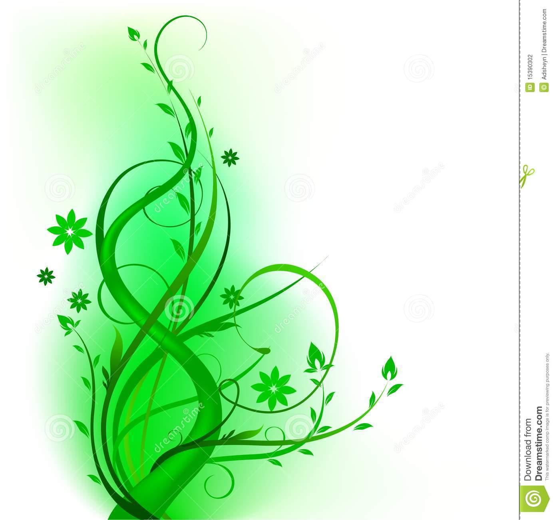 Green Swirl Designs
