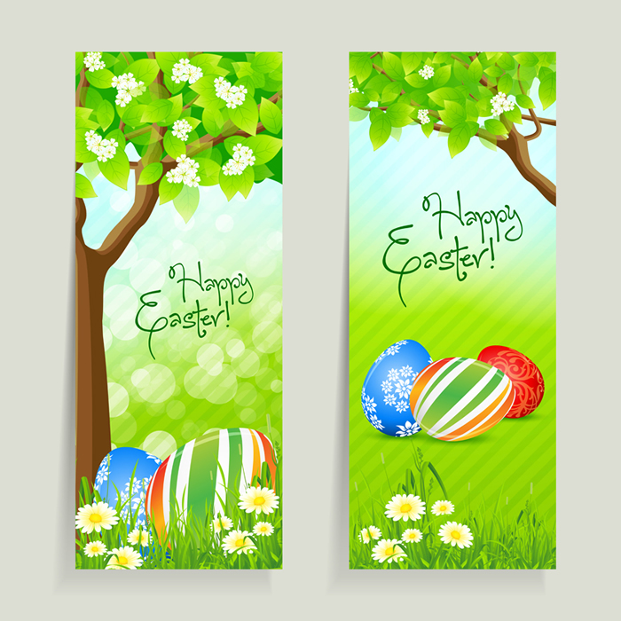 Happy Easter Vector Free Download
