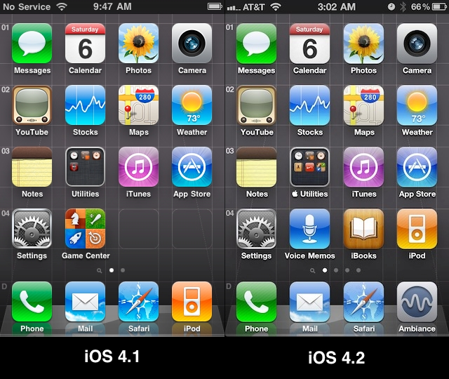 16 IPhone 4 Screen Icons Images
