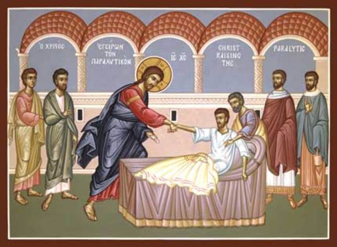 13 Icon Paralytic Healed By Jesus Images