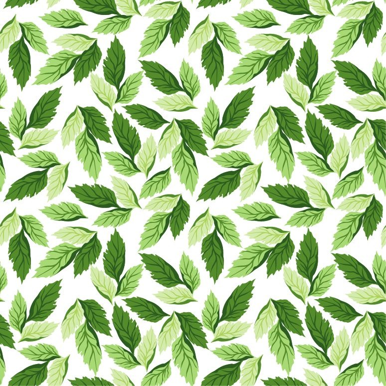 17 Leaf Patterns Designs Vectors Images