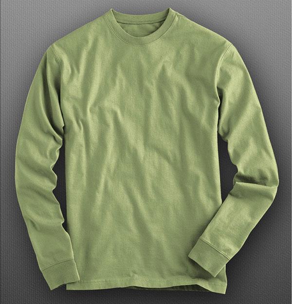 Long Sleeve T-Shirt Mockup Psd Free